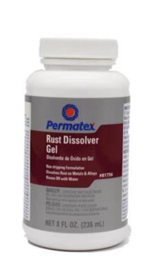 Permatex Rust Dissolver Gel 81756 82138中國Permatex總代理