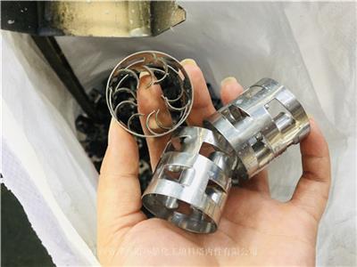 廢氣凈化塔填料 304材質鮑爾環填料 50mm直徑不銹鋼鮑爾環