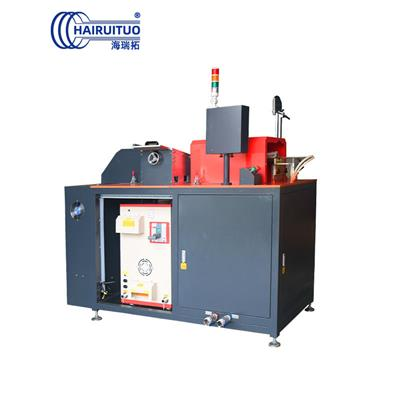 中頻鍛造爐 不銹鋼銅鋁鐵棒感應加熱設備 淬火退火熱透鍛造加熱爐
