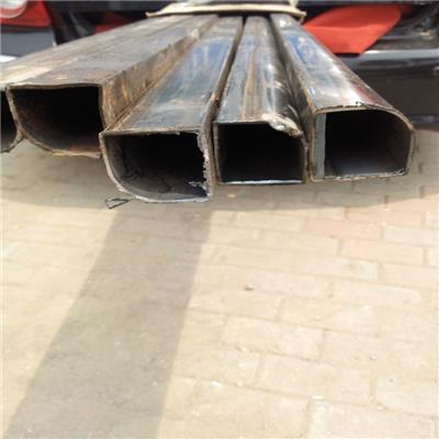 黑腿扇形管加工厂家 扇形钢管 **