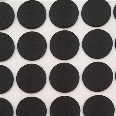 不干胶黑色绒纸 防滑背胶手机支架绒布贴 规格齐全