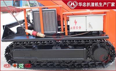 黃山60型礦山扒渣機廠家定制 履帶式煤礦扒渣機適用范圍