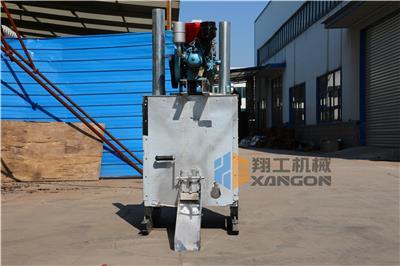 300升單缸熱熔釜熱熔料分解車 熱熔釜是熱熔標線施工的主要設備之一