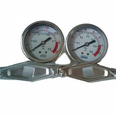 精密數字普通不銹鋼耐震壓力表數顯真空油氣測壓表 **