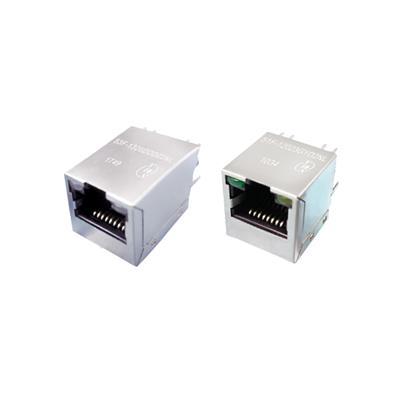 YDS元冊51F-1202GYD2NL立式百兆RJ45集成變壓器