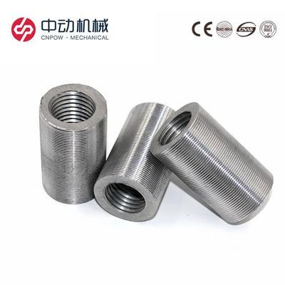江浙鋼筋套筒 廠家 25鋼筋直螺紋套筒價格