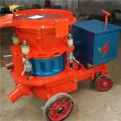 鴻奕HSP-5礦用濕式噴漿機參數 工地護坡混凝土噴漿機
