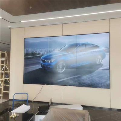 樹遠廠家**46寸3.5M拼縫4K液晶拼接屏 會議展廳機柜定制安裝液晶大屏