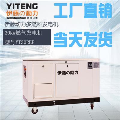 30kw多燃料發電機伊藤YT30REP