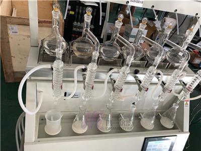 實驗室一體化蒸餾儀CYZL-6C揮發酚蒸餾器