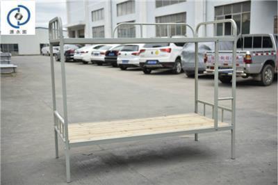 郴州學生床永固彎管雙層鐵床