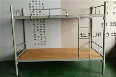 郴州單人鐵床永固卡扣上下鐵床批發