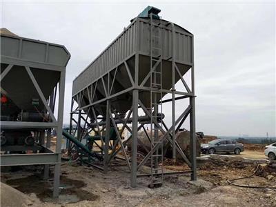 WCZ穩定土拌合站二次攪拌生產能力