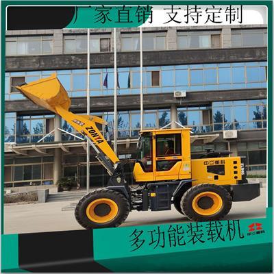 建筑工地運輸沙石柴油鏟車南華無級變速鏟車生產基地
