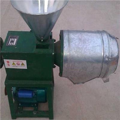 錐形電動加工磨粉機 粗糧精細脫皮面粉機