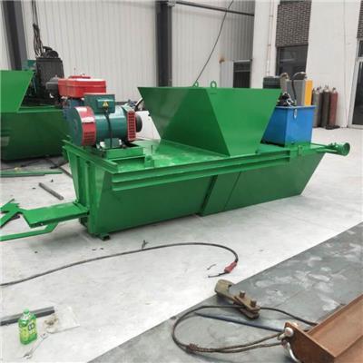 排水溝U型渠磚機 水利工程梯形溝渠滑模機 混凝土一次性水溝機