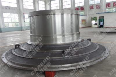 球磨機中空軸加工廠 供應球磨機配件 鑄鋼中空軸