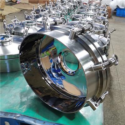 不銹鋼發酵罐配件、衛生級橢圓型人孔、不銹鋼儲罐人孔