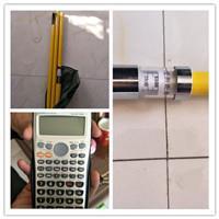 供應TR導高測量尺環氧樹脂測量桿接觸線測量尺接觸網用測距桿