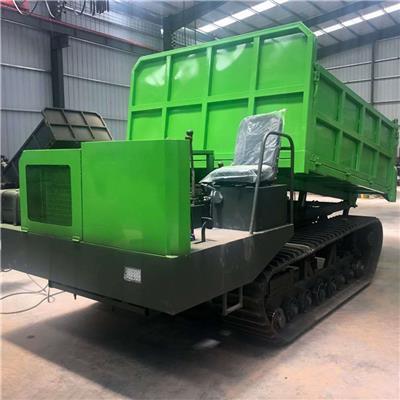 型履帶山地運輸車農用履帶運輸機果園手扶履帶爬山虎運輸搬運車
