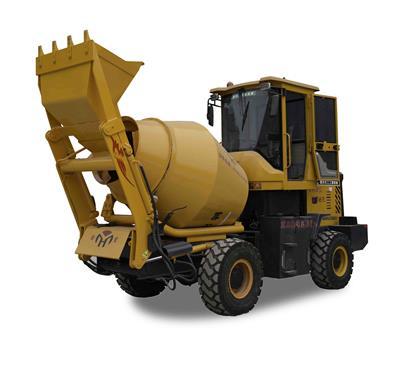 重慶宏工可移動輪式滾筒式攪拌車 混凝土攪拌機  攪拌機廠家 混凝土攪拌機價格