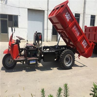 柴油機三輪車 28馬力液壓翻斗三輪車 爬坡能力強