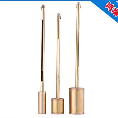 鴻瑞不銹鋼黃銅測溫盒計量儀器廠家 **充溢式保溫盒