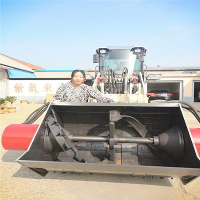 1.2方三能攪拌斗裝載機2方三能攪裝 鏟車攪拌斗 鏟車改裝攪拌斗