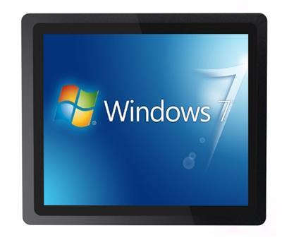 21.5寸高清工業電容觸摸一體機平板電腦嵌入壁掛