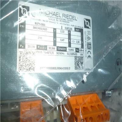 Michael Riedel單相變壓器RSTN 50 – 3000