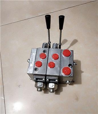 進口液壓多路閥換向閥手動閥分配器鉆機操作臺配件廠家**