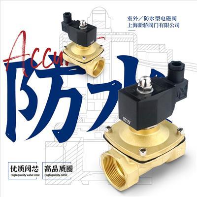 2WS铜电磁阀塑封线圈防水型