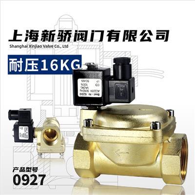 0927型铜电磁阀PN16