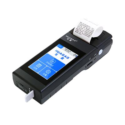 華高毛手持智能發檢測儀,4g模塊實時驗證