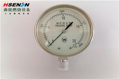 供應西牌OSAKA壓力表 0-20Kpa過壓防止型微壓表