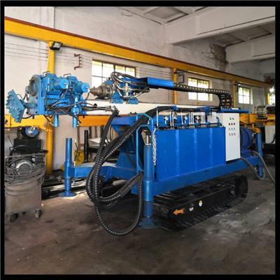廣州履帶高壓旋噴鉆機 沖擊器錘頭引孔鉆機 聚強高壓泵**供應