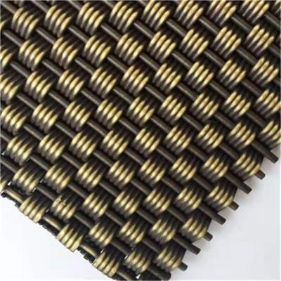 **供应不锈钢金属装饰网帘 外墙装饰网 合股幕墙装饰网编织成型