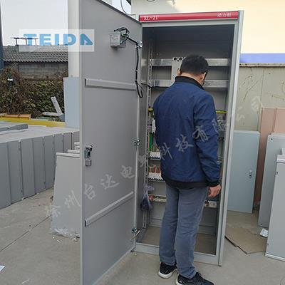 1控3成套PLC變頻控制柜水處理廠變頻泵柜持久**