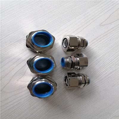 銅川DPJ端式金屬波紋管接頭 鋅合金接頭