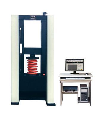濟南時代試金試驗儀器 100KN微機控制彈簧拉壓試驗機
