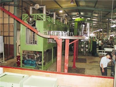 懸掛式超聲波流水線多槽除油清洗機 流水線清洗設備