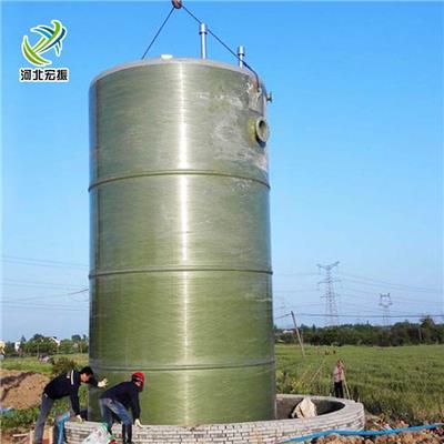 山東預制提升泵站材質