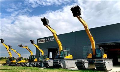 水挖浮箱,浮箱維修,挖掘機改裝,水路挖掘機三件套維修-長河機械
