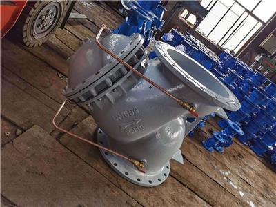 多功能隔膜式止回閥  JD745X多功能水泵控制止回閥  利馳閥門
