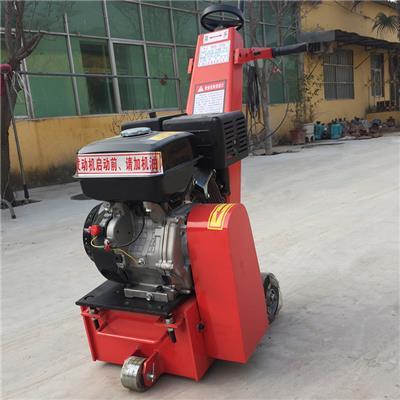 小型手扶式銑刨機 多功能地面翻新拉毛機 混凝土路面銑刨機