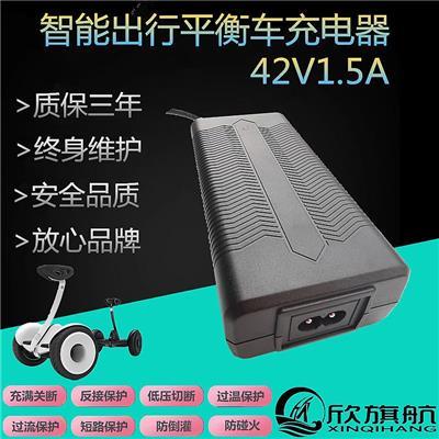欣旗航42V1.** 鋰電池滑板車充電器過認證