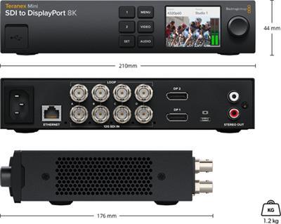 Teranex Mini SDI to DisplayPort 8K HDR