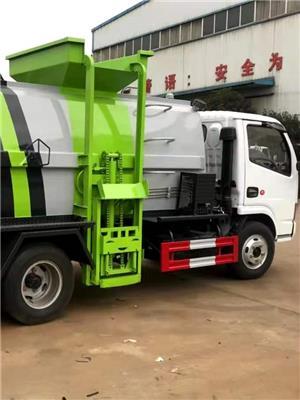 南昌垃圾車價格 垃圾對接車 湖北程力