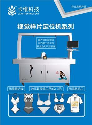 卡維DS視覺全自動定位機?樣片車縫定位左右工作平臺