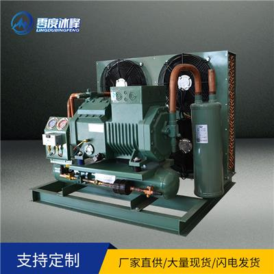 比澤爾機組廠家** 制冷機組壓縮機  濟南零度冰峰定制制冷設備